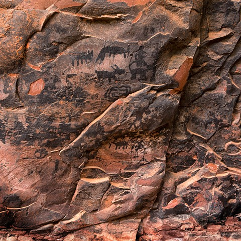 Pictographs ~ Palatki Ruins ~ Sedona, Arizona