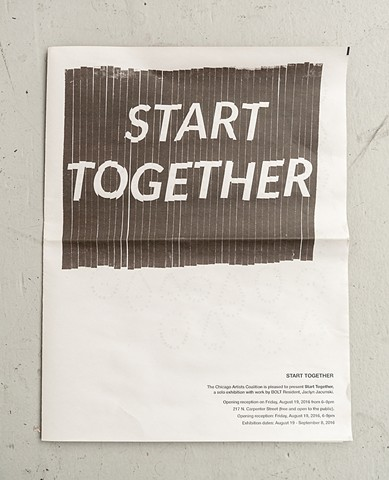 Start Together, Newsletter
