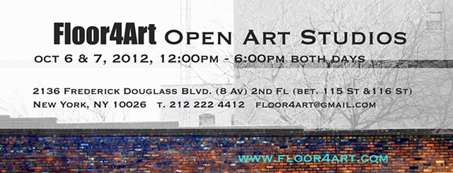 Open Art Studios Fall 2012