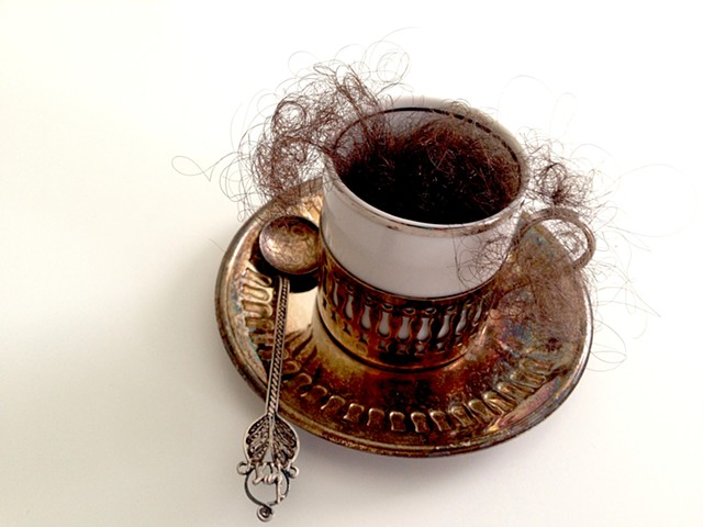 hair, tea cups, spoon, race, dominican, identity, salon, cabello