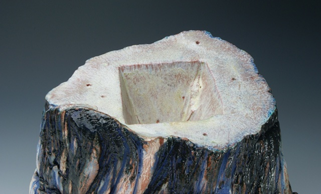 Blue Stump (Detail)