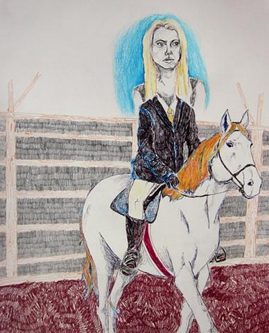 English saddle, Western shame
