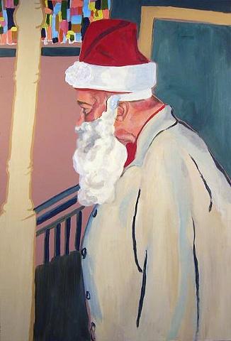 Pop Pop as Santa