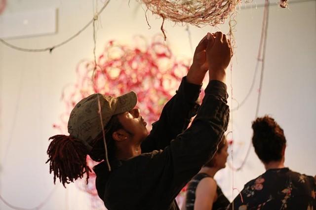 A Thread X  (Meets) A Thread   Oklahoma Contemporary, Oklahoma City, OK