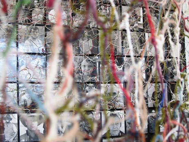 A Thread X  (Meets) A Thread  Bank Art Space, Matfield Green, KS