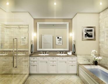 Level 8 Master Bathroom