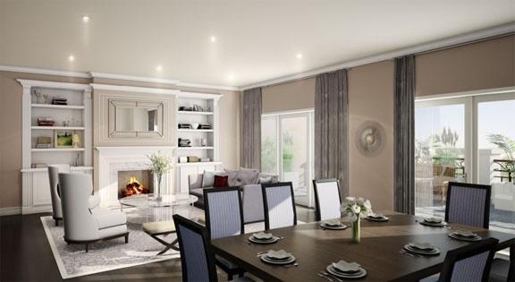 Level 8 Living Room