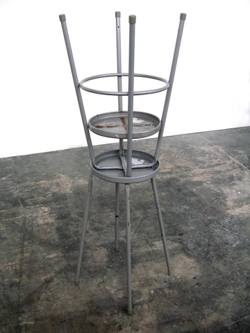 24246006 (metal stool, stool parts, ground)