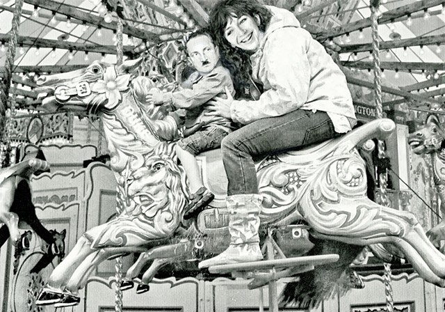"""When will we get there Kate?"" (Martin Heidegger and Kate Bush on a Carousel Ride)."