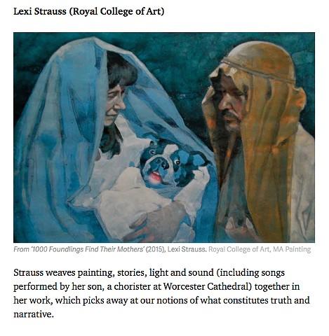 Apollo Maazine- Catlin Art Prize finalists