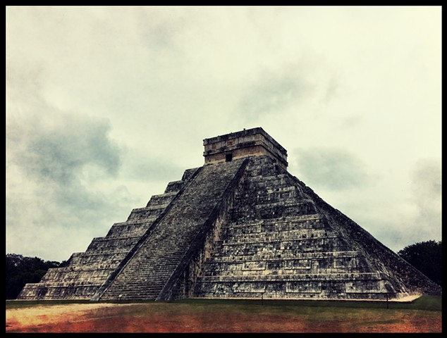 Mayan Architecture, photograph By Justyn Michael Zolli