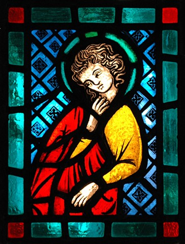 Apostle panel (after 12th century glass design)