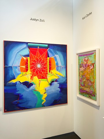 exhibiting at Art Market SF, w/ Gallery Sam