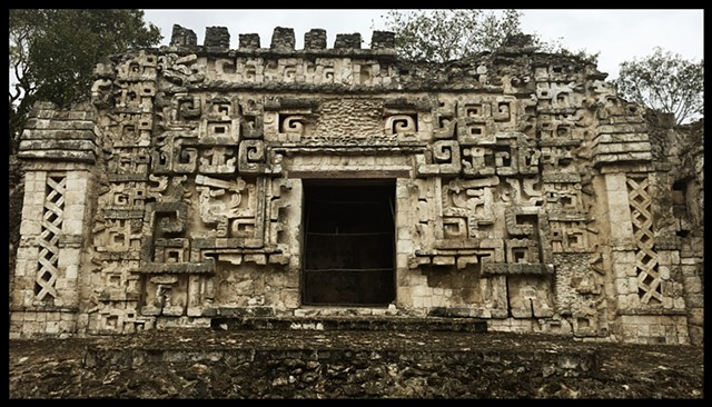 Mayan Temple Architecture, photograph By Justyn Michael Zolli