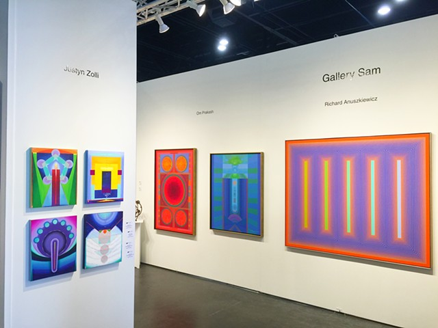 at Texas Contemporary, Houston TX, w/ Gallery Sam