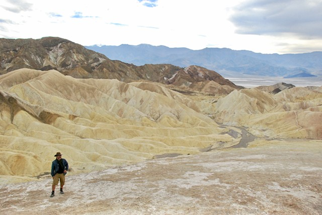 Zabrinski Point, Death Valley Nationa Park, CA
