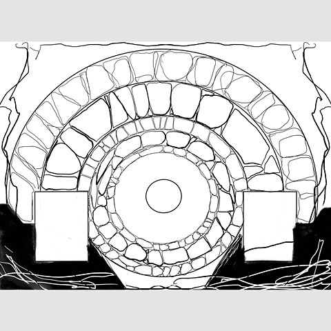 Portal sketch (Digital Drawing 9)