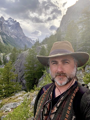 Hiking the Grand Teton range, 2020