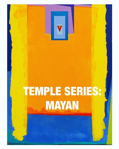 PAINTINGS:MAYAN SERIES