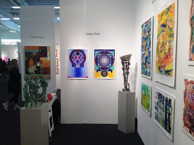 Art On Paper Contemporary Art Fair,  New York City,  w/ Gallery Sam