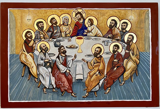 Icon, The Mystical Supper