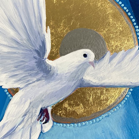 The Holy Spirit as a Dove (Detail)