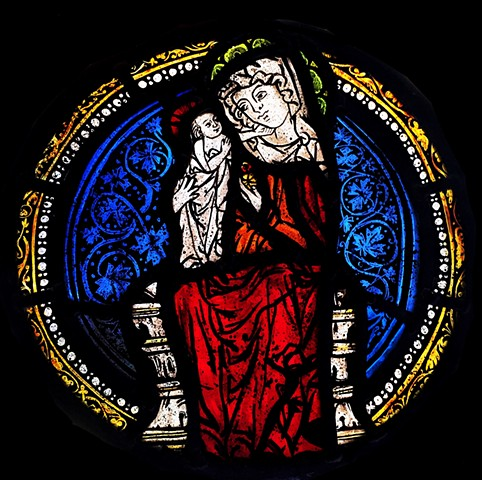 Madonna and Christ child (after a 12th century design)