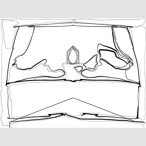 Tabernacle sketch (Digital Drawing 11)