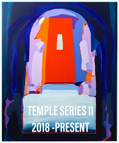 PAINTINGS:TEMPLE SERIES II