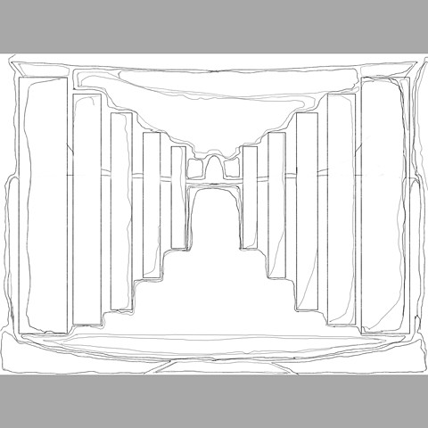 Entrance sketch (Digital Drawing 6)