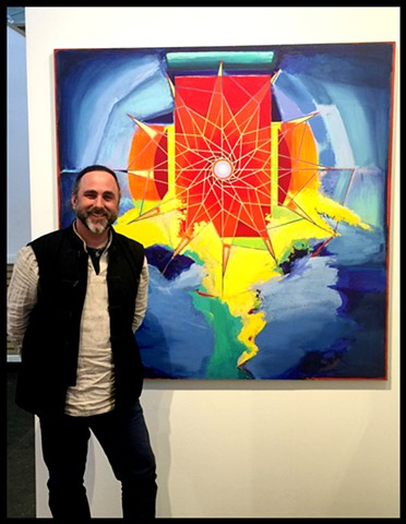 exhibiting 'Grail Knight' at  Art Market Contemporary Fine Art Fair,  w/ Gallery Sam
