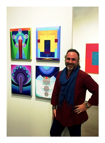 at Houston Contemporary Fine Art Fair, Houston Texas,  w/ Gallery Sam