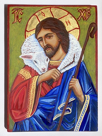 Icon, The Good Shepherd