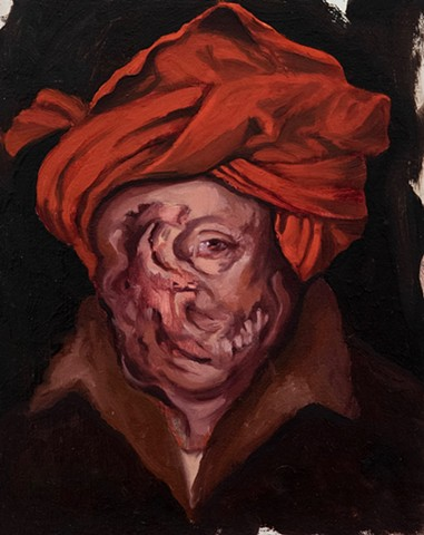 Self-Portrait With The Plague