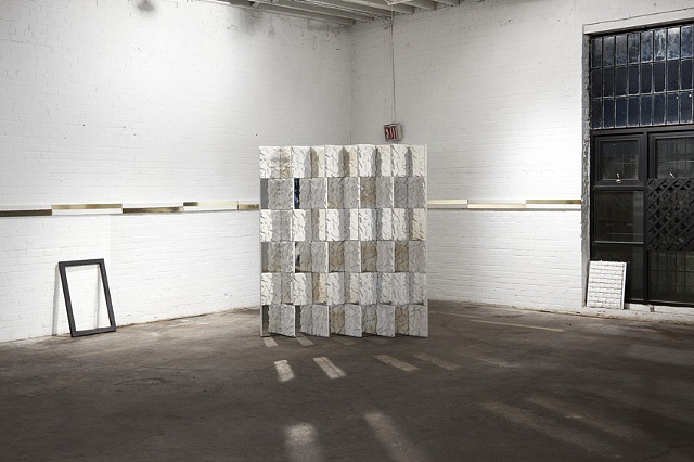 Installation Shot (From left to right: Untitled, Accordion Stack, Jacob's Ladder, Lattice)