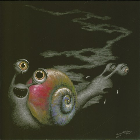 Snails, two headed snail, push me pull you, fantasy creature
