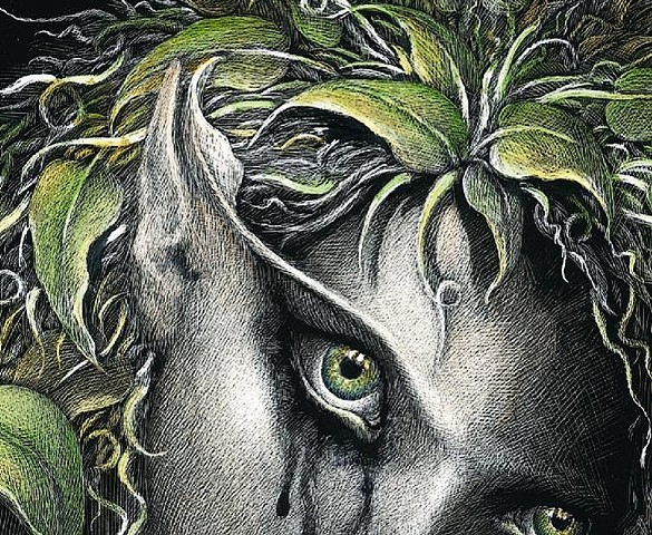 forest faerie death green man nature mother earth