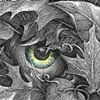 """""""Welcome to the Masquerade! Green Man"""" (Detail View)"""