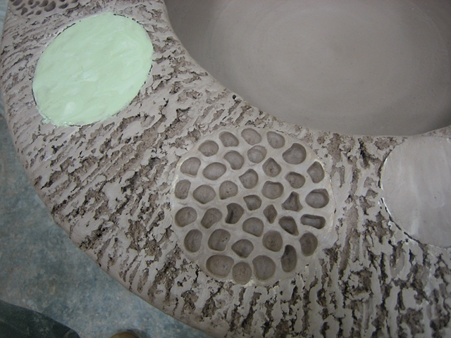 Raw Wall Plate (detail)