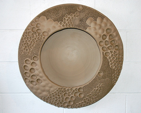 Circle of Raw Wall Plates (detail)