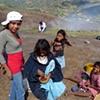 Girls picking coffee, Matagalpa, Nicaragua