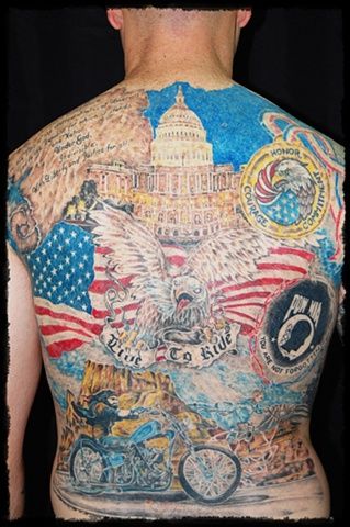All Rights Reserved By Shauna Fujikawa Hope Tattoos & Art - Patriotic