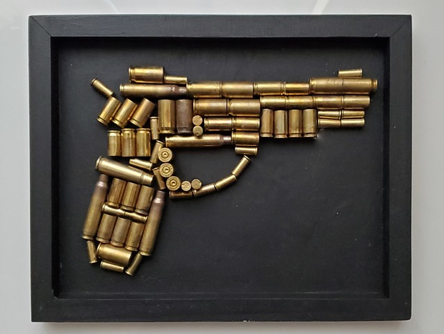 By Shauna Fujikawa Hope Tattoos & Art - Pew Pew bullet casings