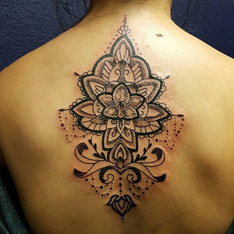 All Rights Reserved By Shauna Fujikawa Hope Tattoos & Art - Mandala Sister Love
