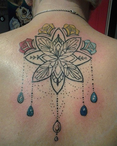 All Rights Reserved By Shauna Fujikawa Hope Tattoos & Art - Mandala Chandelier