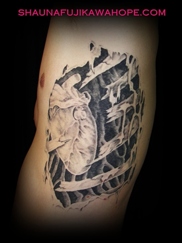 All Rights Reserved By Shauna Fujikawa Hope Tattoos & Art - Heart