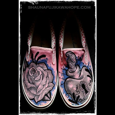 Custom Canvas Shoes