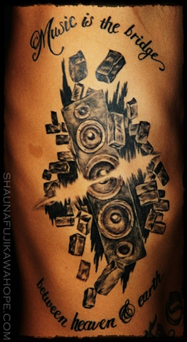 All Rights Reserved By Shauna Fujikawa Hope Tattoos & Art - Music