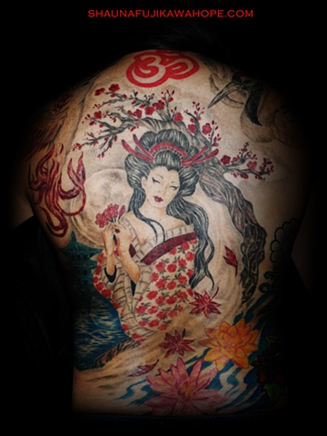 All Rights Reserved By ShaunaFujikawa Hope Tattoos & Art - Geisha