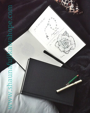 All Rights Reserved By Shauna Fujikawa Hope Tattoos and Art  - Daily Gratitude Journal